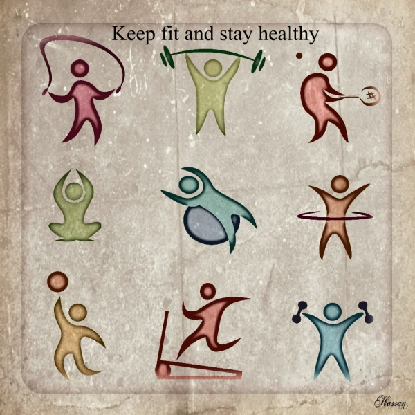 Keep fit and stay healthy